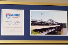The American Society of Highway Engineers honored CDC in 2001, along with the other firms on the project team, for the rehabilitation of the Hot Metal Bridge.